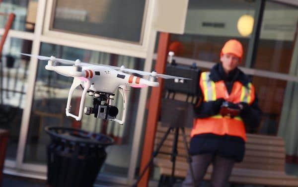 La lucrative révolution du drone