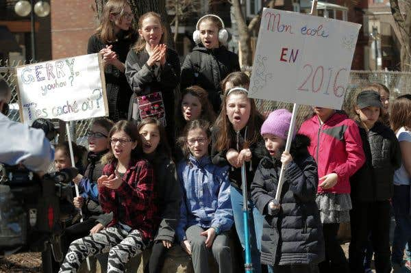 Québec interviendra à l'école Saint-Gérard