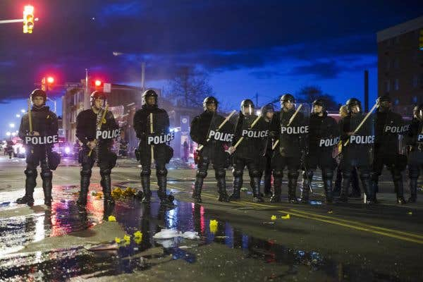 Baltimore prend des airs de Ferguson