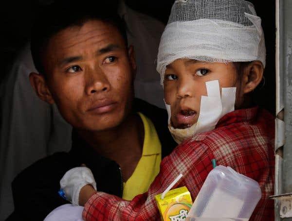 Chaos humanitaire à Katmandou
