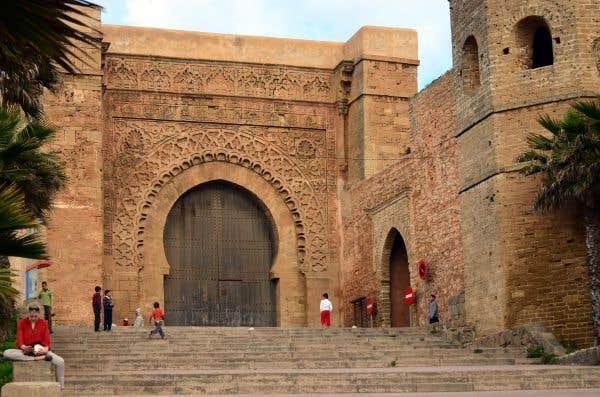 L'entrée de la Bab Oudaya