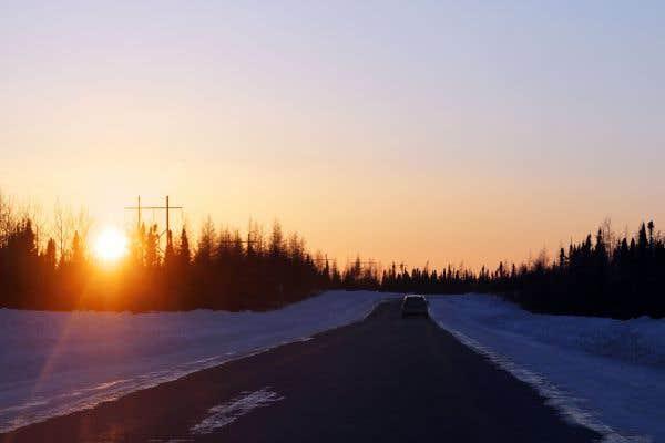 La route grandeur nature