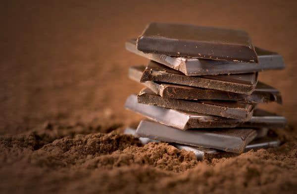 Pourquoi le chocolat blanchit-il?