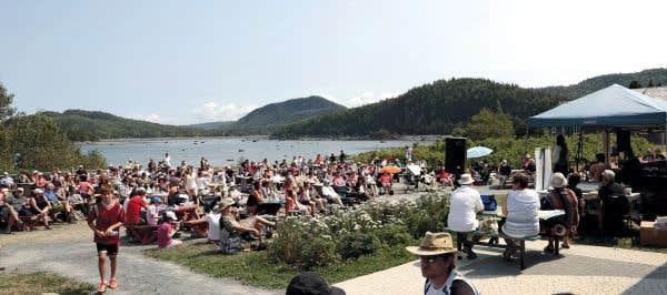Concerts dans les îles