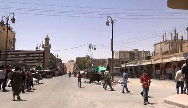 Damas frappe fort à Palmyre