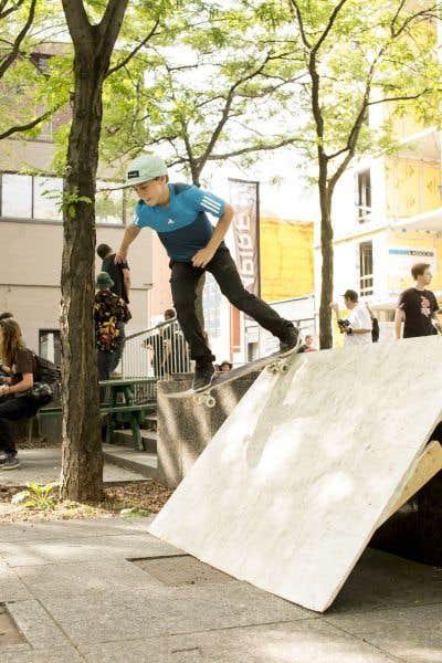 Un été skate à «Peace Park»
