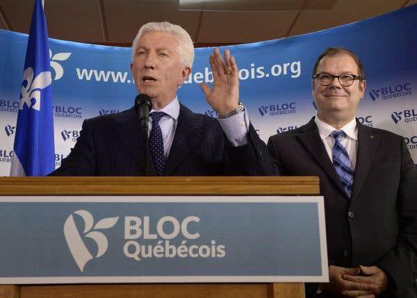 Gare au mirage du «bloc canadien», dit Duceppe