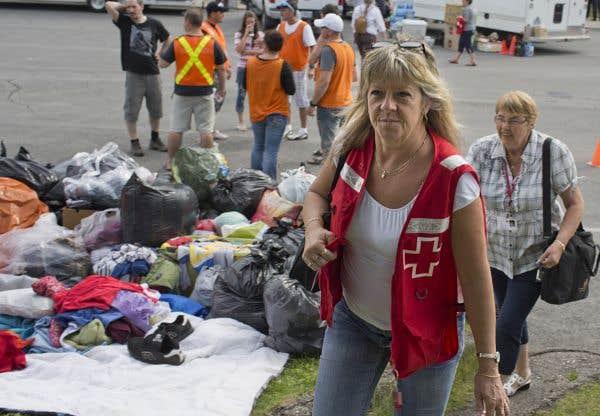 La Croix-Rouge a octroyé la majorité des dons reçus