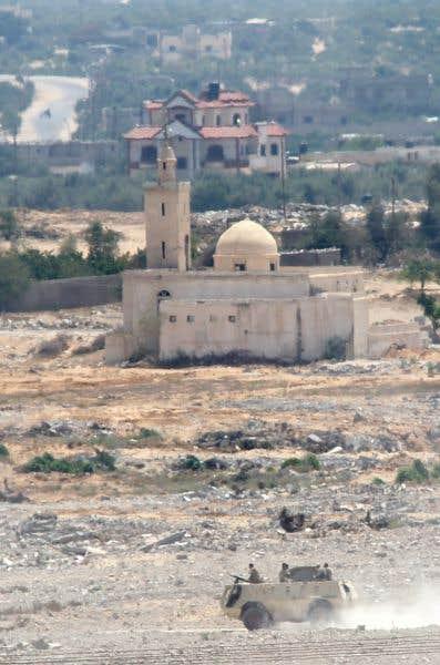 État islamique vise l'Égypte et Gaza