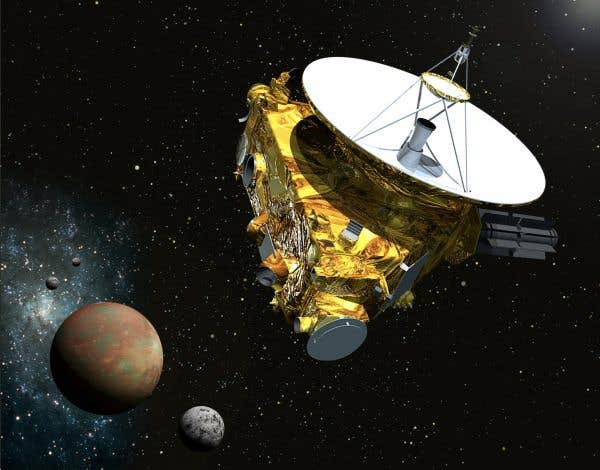Bientôt près de Pluton