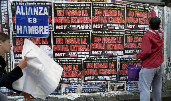 Le défaut de paiement de la Grèce, comme celui de l'Argentine en 2001?