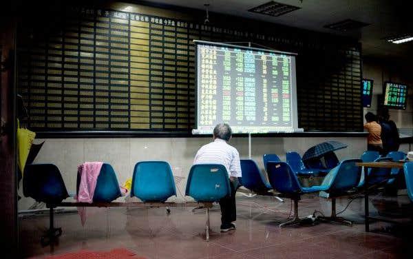 Le très rude atterrissage de la Bourse chinoise