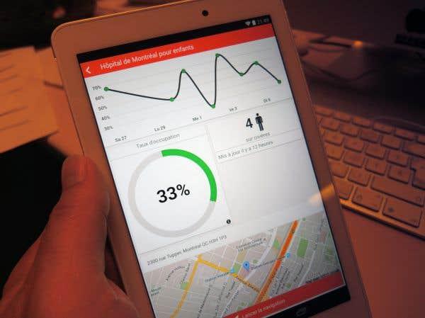 Une application mobile au service des patients