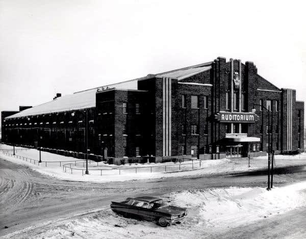 Le vieil Auditorium de Verdun se refait une beauté