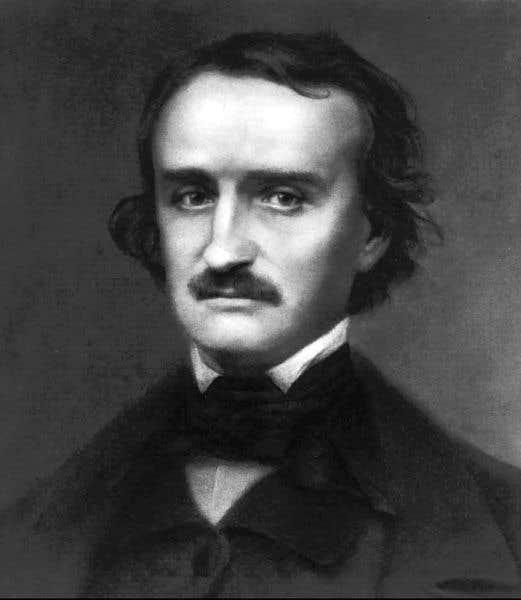 Edgar Allan Poe, englouti dans ses ténèbres