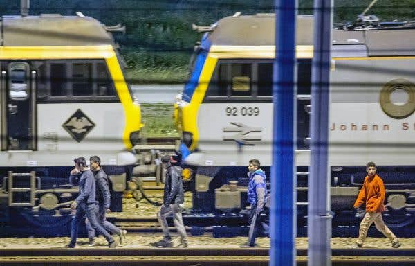 La crise des migrants gagne l'Eurotunnel