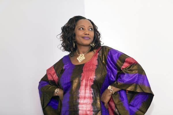 Amity Meria, porte-flambeau du Burkina Faso