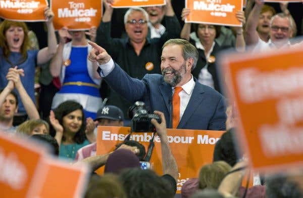 Dons aux partis politiques: les conservateurs en tête, le NPD en forte hausse