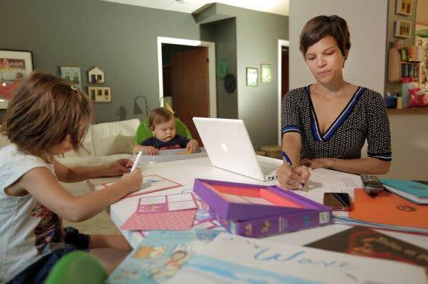 Remodeler le bureau selon les besoins des jeunes parents