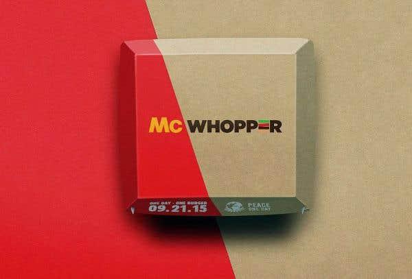 Burger King offre le burger de la paix à McDonald's