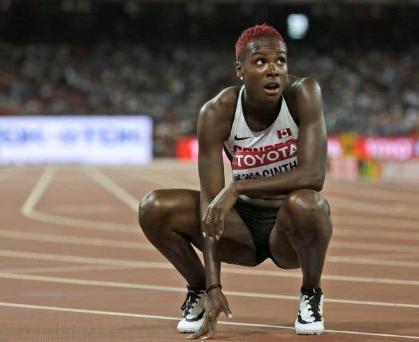 Kim Hyacinthe passe aux demi-finales du 200m
