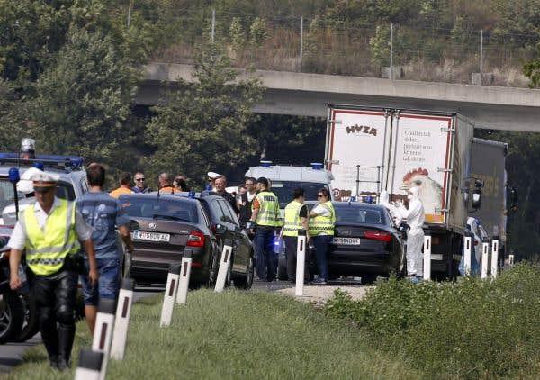 Plus de 20 morts dans un camion en Autriche