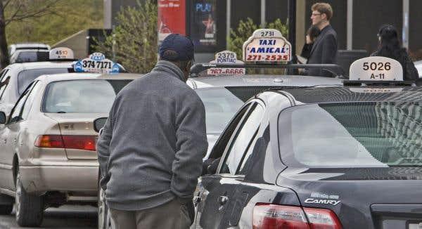 Les chauffeurs de taxi n'ont plus rien à perdre
