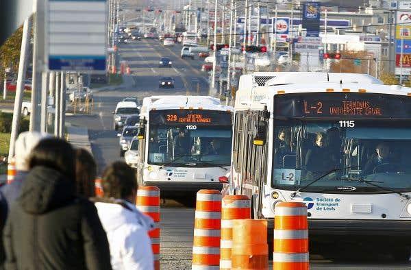 Le transport collectif n'obtient pas sa juste part du Fonds vert