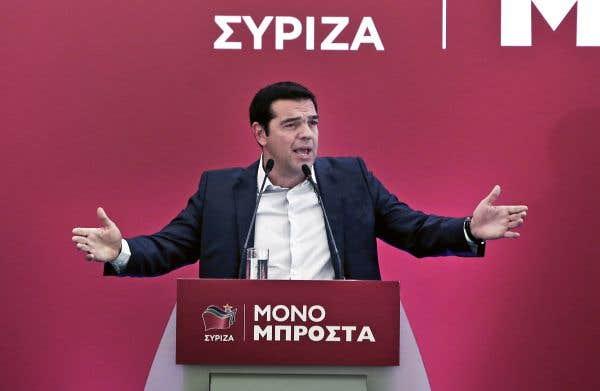 Tsipras mise sur «la majorité absolue»