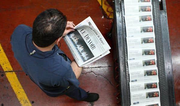 Imprimerie Mirabel décrète un lockout