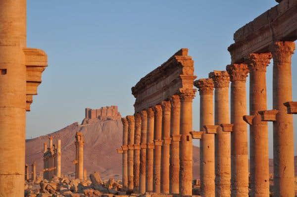 Les djihadistes d'EI «ont tué Palmyre»