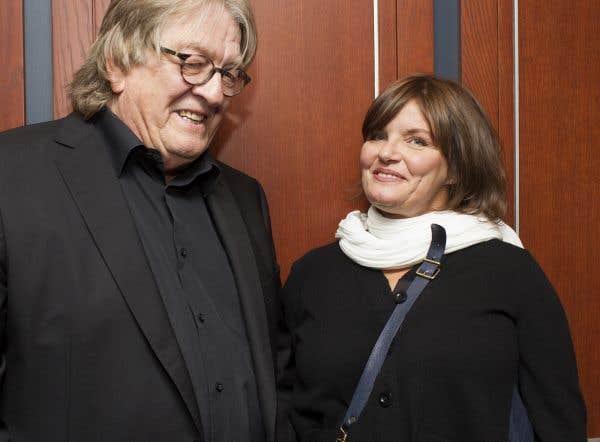 Moment de complicité entre François Cousineau et Diane Tell.