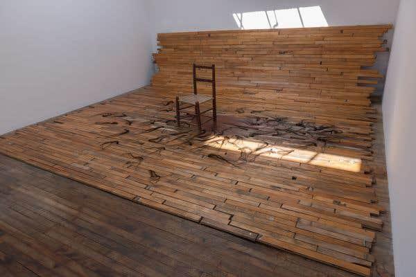 «Somewhere Else», Rebecca Belmore, 2015