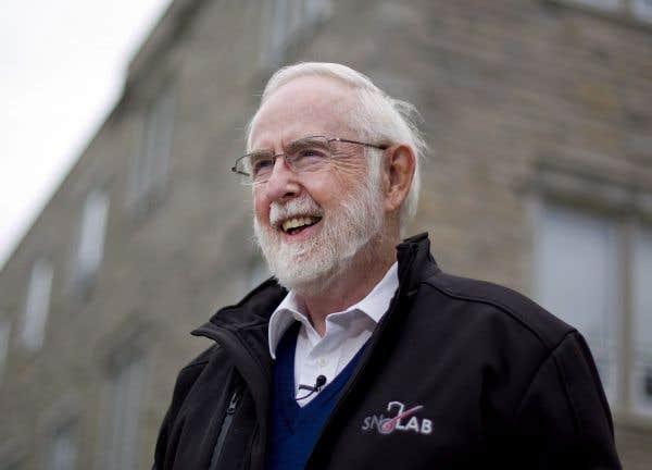 Le Canadien Arthur McDonald, colauréat du Nobel de physique
