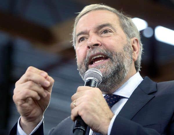 Le duel Trudeau-Harper laisse Mulcair en plan
