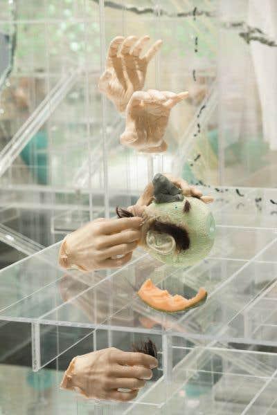 La rétrospective David Altmejd a aussi été une des expos à succès de l'année.