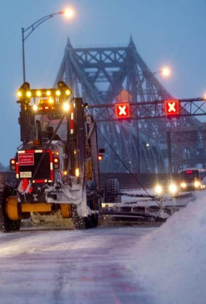 Tempête de neige à Montréal, 27 décembre 2012