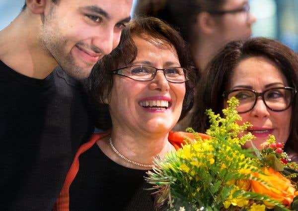 «C'est merveilleux d'être revenue à la maison. Ça fait du bien d'être dans un endroit où l'on se sent en sécurité», a dit l'anthropologue Homa Hoodfar en arrivant à l'aéroport Pierre-Elliott-Trudeau, le 30 septembre dernier.