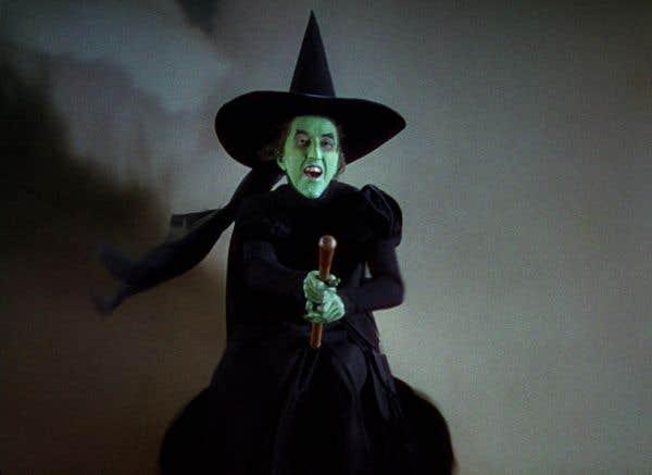 maquillage sorciere magicien d'oz