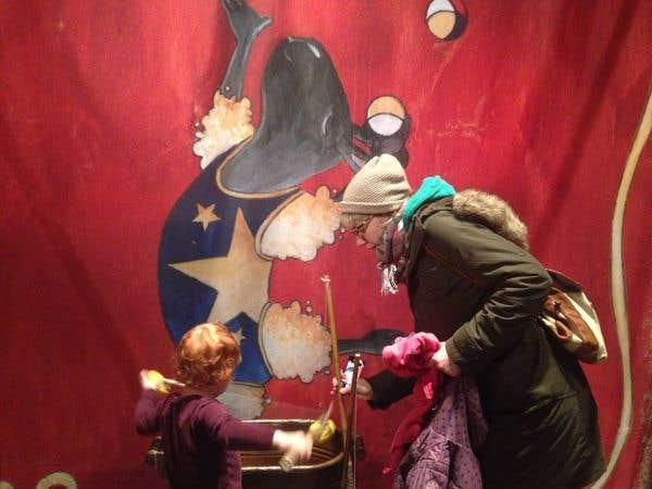 L'exposition «Le cirque de Monsieur Lapin» courue par les enfants au musée McCord