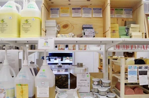 Le concept zéro déchet permet au consommateur d'acheter la quantité désirée, précise Pauline Poison.