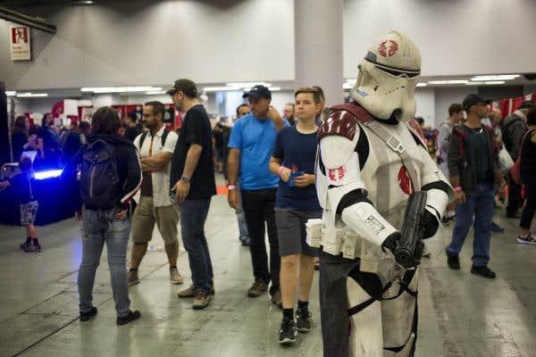 Les geeks convergent au ComicCon de Montréal
