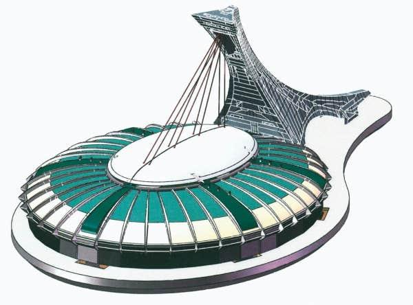Dessau mousse son toit r tractable le devoir - Piscine du stade olympique ...
