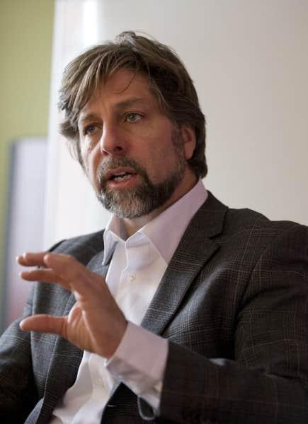 Le maire de l'arrondissement Plateau-Mont-Royal, Luc Ferrandez
