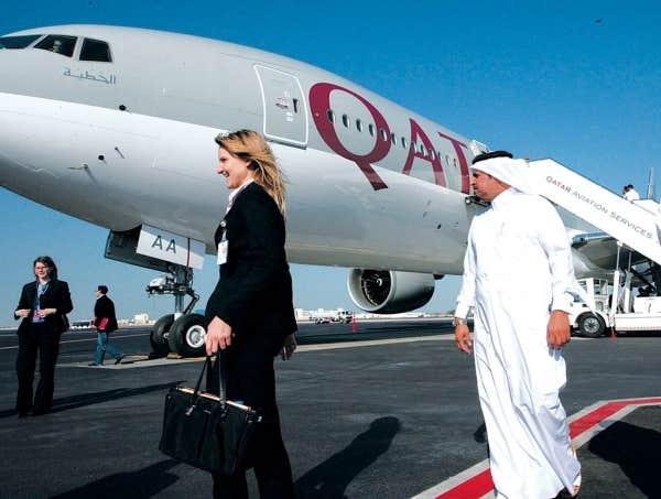 Montr al doha sur qatar airways le devoir for Acheter tv montreal