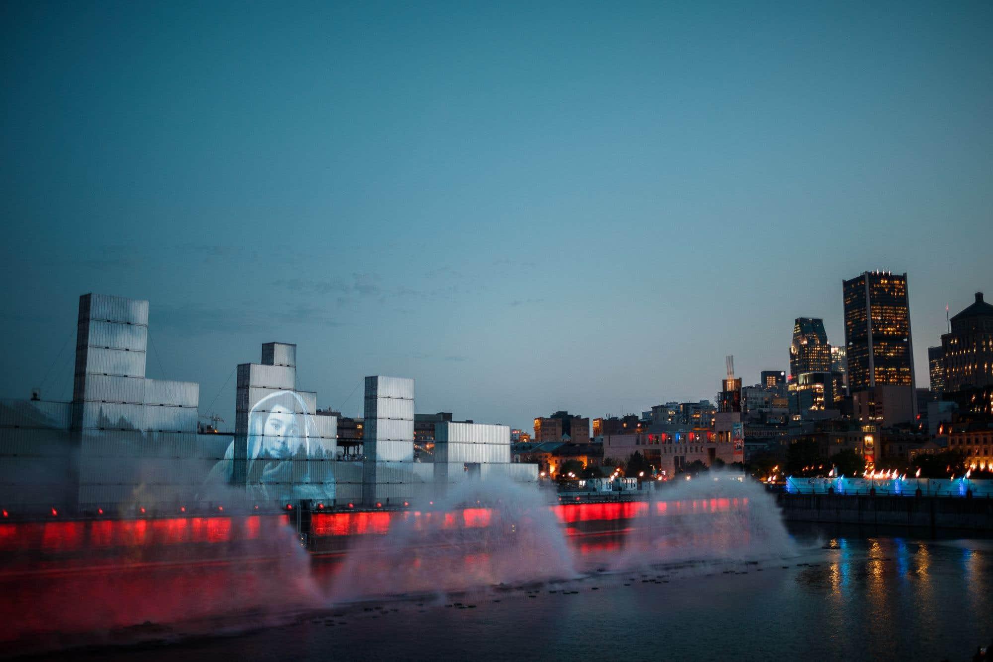«Montréal Avudo», un spectacle multimédia, a été lancé mercredi soir, plongeant les spectateurs dans le rêve d'un enfant pour raconter l'histoire de la métropole à travers son fleuve.
