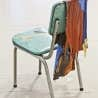 Sarah Cale, Chair 2, 2011, acrylique et chaise, 81,3 x 56 x 38 cm.
