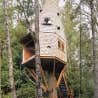 La cabane d'Island Wood, Bainbridge Island, Washington, États-Unis
