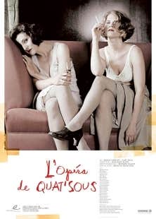La photographie d'Angelo Barsetti retravaillée par la graphiste Louise Marois, prévue pour la publicité du Théâtre Sibyllines