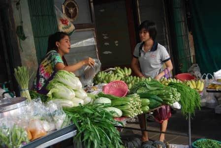 Marché en Thaïlande